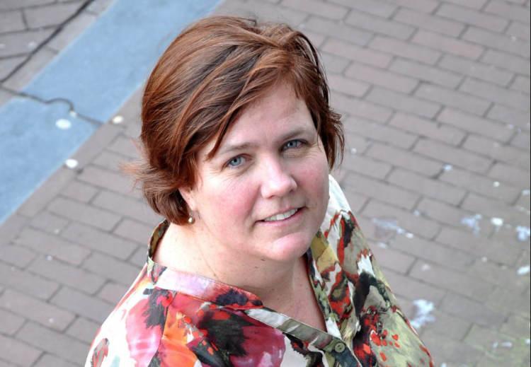 Sandra Claassen door Johan Tempelaar