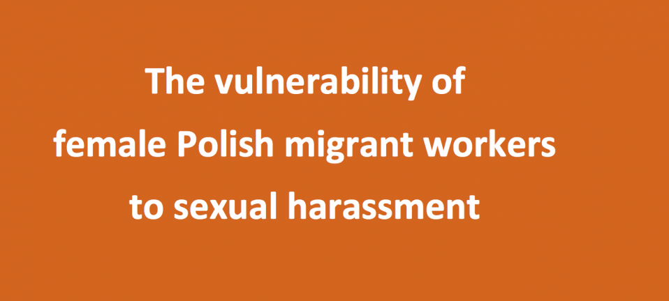 Vulnerability of polish migrant workers