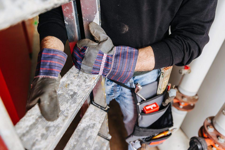 bouwvakker handschoenen